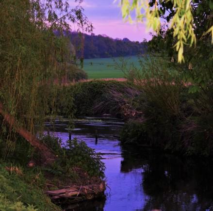 Dusk River