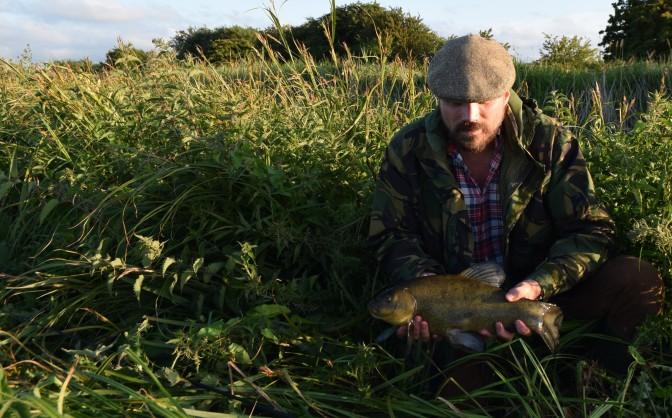 First tench of the 18 Season