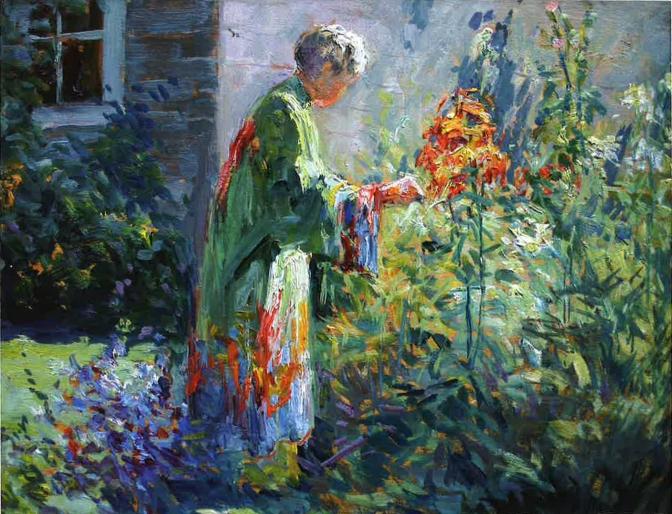 Matilda Browne- In the Garden 1915