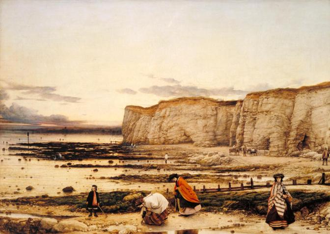 Pegwell Bay, Kent - a Recollection of October 5th 1858 ?1858-60 by William Dyce 1806-1864