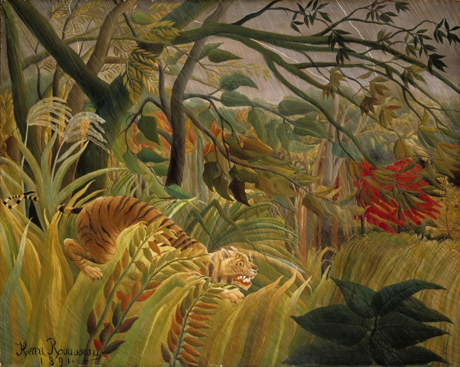 'Surprised' by Rousseau